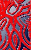 Красивая яркая предпосылка от орнамента Краска масла, выбивая влияние стоковое фото rf