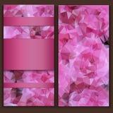 Красивая яркая рогулька шаблона карточки Стоковое Фото