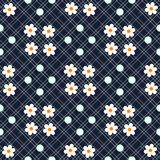 Красивая ditsy флористическая безшовная предпосылка безшовный вектор текстуры для печатей eps10 моды иллюстрация штока