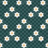 Красивая ditsy флористическая безшовная предпосылка безшовный вектор текстуры для печатей eps 10 моды иллюстрация вектора