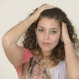 красивейшая латынь девушки стоковые фото