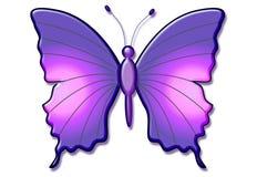 красивейшая бабочка 3d Стоковые Изображения