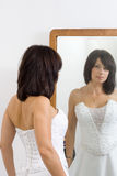 красивейшая белая женщина Стоковое Изображение RF