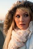 красивейшая белокурая девушка Стоковая Фотография RF