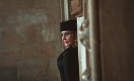 красивейшая белокурая женщина портрета стоковая фотография rf
