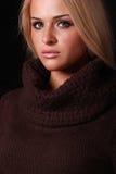 Красивейшая белокурая женщина Стоковая Фотография RF