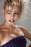 Красивейшая белокурая молодая женщина Стоковое фото RF