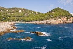 красивейшая береговая линия стоковое фото rf