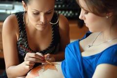 Красивейшая беременная женщина Стоковые Фото