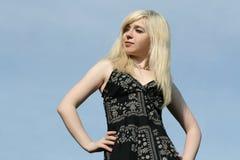 красивейшая блондинка Стоковые Фото