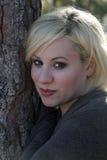 красивейшая блондинка 2 outdoors Стоковые Фото