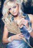 красивейшая блондинка Стоковая Фотография