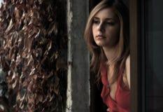 красивейшая блондинка Стоковая Фотография RF