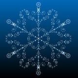 красивейшая большая снежинка Стоковое Фото