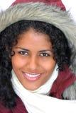 красивейшая бразильская девушка Стоковое Изображение