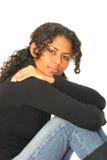 красивейшая бразильская девушка Стоковое Изображение RF
