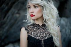 Красивейшая блондинка Стоковое Фото