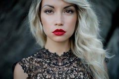 Красивейшая блондинка Стоковые Изображения