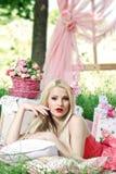 Красивейшая блондинка Стоковое Изображение