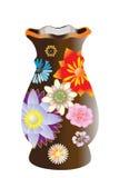 красивейшая ваза цветка стоковые изображения