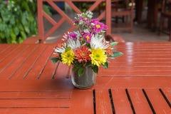 красивейшая ваза цветков Стоковая Фотография RF