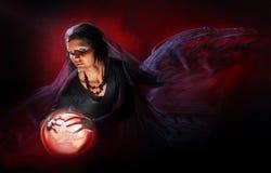 красивейшая ведьма Стоковое Фото