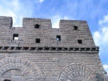 красивейшая Великая Китайская Стена фарфора Стоковые Изображения