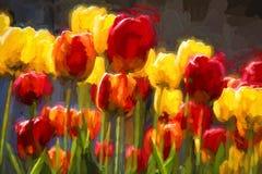 красивейшая весна цветков иллюстрация вектора