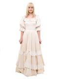 Красивейшая викторианская женщина стоковая фотография rf