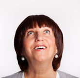 красивейшая возмужалая женщина стоковые фотографии rf
