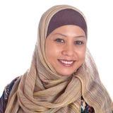 красивейшая возмужалая мусульманская женщина Стоковое Изображение