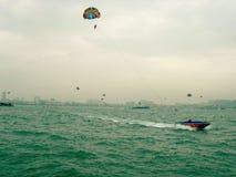 красивейшая вода спорта персоны скачки Стоковое фото RF