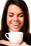 красивейшая выпивая сь женщина Стоковые Изображения
