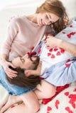 красивейшая влюбленность пар Стоковое Изображение RF