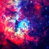 красивейшая галактика Элементы этого изображения поставленные NASA стоковое фото rf