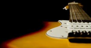 Красивейшая гитара Стоковое Изображение