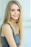 красивейшая голубая eyed девушка стоковое фото