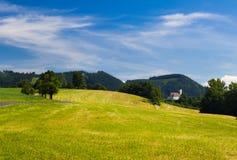 красивейшая гора ландшафта Стоковое Изображение