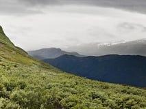 красивейшая гора ландшафта Стоковые Изображения RF