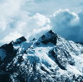 красивейшая гора кордильер Стоковая Фотография