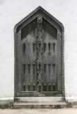 красивейшая дверь zanzibar стоковые фотографии rf