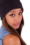 Красивейшая девушка Афроамериканца Стоковые Фотографии RF