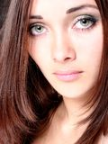 красивейшая девушка глаз Стоковое фото RF