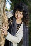 Красивейшая девушка на урбанском парке Стоковое Фото
