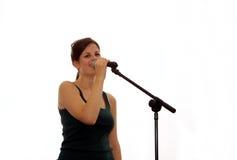 красивейшая девушка пея стоковая фотография