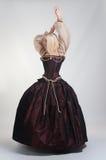 красивейшая девушка платья средневековая Стоковые Изображения