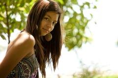 красивейшая девушка подростковая Стоковая Фотография