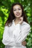 красивейшая девушка расчалок Стоковое Изображение RF