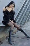 красивейшая девушка сексуальная Стоковая Фотография