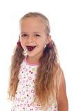красивейшая девушка серег вишни Стоковые Изображения